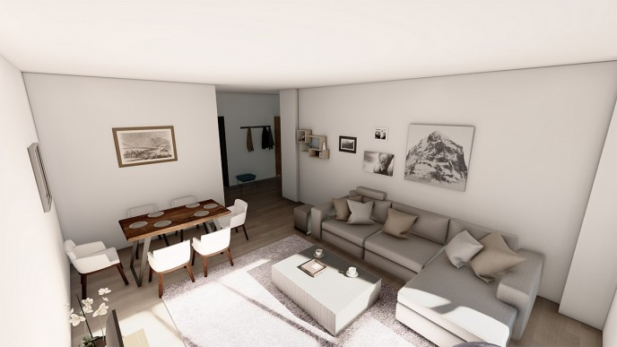 Apartament 3 CAMERE tip C - Landmark Tower