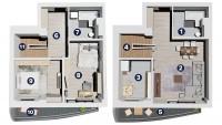 Apartament 3 CAMERE Duplex - Landmark Tower